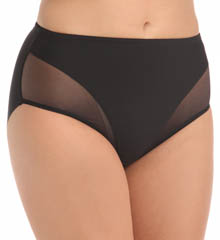 Naomi & Nicole Sheer Sensual Shaping Hi Cut Brief 7904