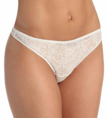 Naomi & Nicole Wonderful Edge Lace Front Thong A1050