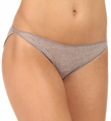 Naomi & Nicole Wonderful Edge Lace Front Bikini Panty