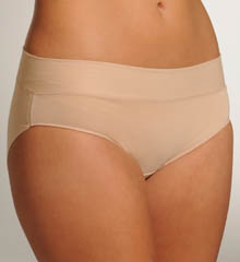 Naomi & Nicole Wonderful Edge Wide Band Cotton Hipster Panty A153
