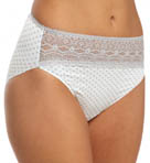 Wonderful Edge Lace Trim Hi-Cut Panty Image