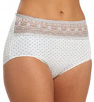 Naomi & Nicole Wonderful Edge Lace Trim Boybrief Panty A165