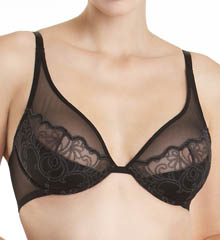 Mode Unlined Underwire Plunge Bra