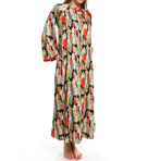 Natori Sleepwear Dynasty Zip Caftan D82030