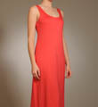 "Natori Sleepwear Shangri-la 46"" Tank Gown with Shelf Bra Q73061"