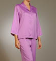 Natori Sleepwear Japanese Stencil Printed PJ Set QC6018