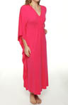 Natori Sleepwear Jersey Solid Knit Caftan R70009
