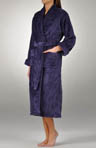 Medallion Sculptured Plush Robe
