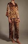 Azuma Notched Collar PJ set