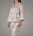 Natori Sleepwear Glon Brushed Back Satin PJ R76057