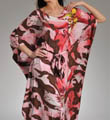 Natori Sleepwear Mekong Printed 52&quot; Caftan S70017