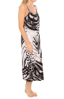 Natori Sleepwear Dara Gown with Shelf Bra
