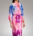 Natori Sleepwear Sapa Printed CDC Long Robe S74007