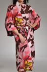 Natori Sleepwear Mekong Printed Robe 49&quot; Long S74017