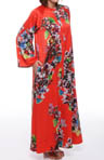 Natori Sleepwear Erdene Zip Caftan T70024