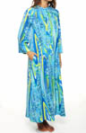 Natori Sleepwear Mandaue Printed CDC Zip Caftan U70045