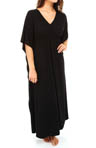 Jersey Solid Knit Caftan Image