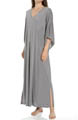 Natori Sleepwear Shangri-La Solid Poly Modal Caftan U70048