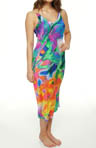 Natori Sleepwear Sagala Printed Georgette Gown U73017