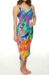 Sagala Printed Georgette Gown
