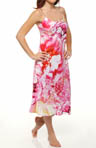 Bellarocca Printed Charmeuse Gown