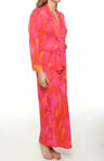 Lagoon Printed Slinky Knit Robe