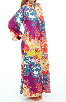 Natori Sleepwear Chinois Zip Caftan V70014
