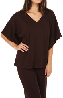 Natori Sleepwear Yama V-Neck Top