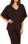 Natori Sleepwear Yama V-Neck Top V75018