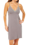 Feathers Chemise with Mesh Image