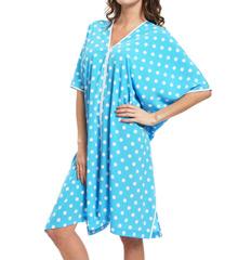 Natori Sleepwear Dots Printed Caftan W70012
