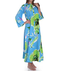 Natori Sleepwear Lana Printed Zip Caftan W70103