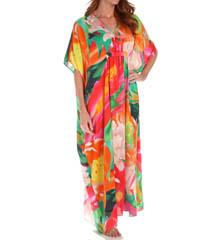 Natori Sleepwear Garbo Printed Silky Caftan W70206