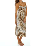 Natori Sleepwear Gabon Printed Georgette Long Gown W73046