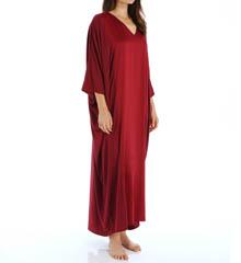 Natori Sleepwear Shangri-La Lounge Solid Modal Caftan X70051
