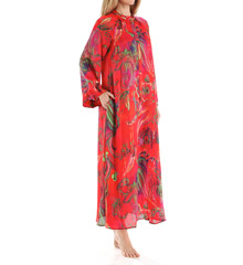Natori Sleepwear Katerina Printed Georgette Caftan X70179