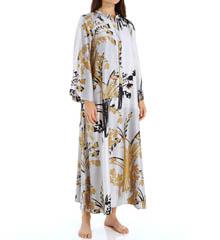 Natori Sleepwear Alexandra Printed Charmeuse Caftan X70271