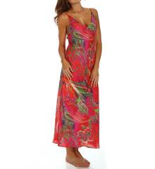 Natori Sleepwear Katerina Printed Georgette Gown X73079