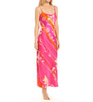 Izabella Printed Charmeuse Gown Image