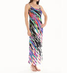 Tatiana Printed Satin Georgette Gown Image