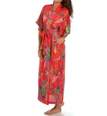 Natori Sleepwear Katerina Printed Georgette Robe X74079