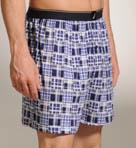 Carson Patchwork Print Knit Boxer