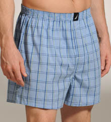 Sherman Plaid Woven Boxer