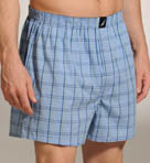 Nautica Sherman Plaid Woven Boxer 135040