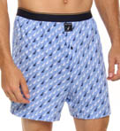 Tide Pool J Class Print Knit Boxer