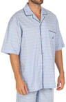 Nautica Woven Camp Pajama Top 136665