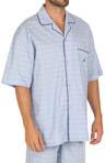 Woven Camp Pajama Top