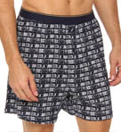 Water Tower Signal Stamp Knit Boxer