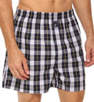 Nautica Harlow Plaid Woven Boxer 202940
