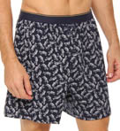 Tackle Fish Print Knit Boxer